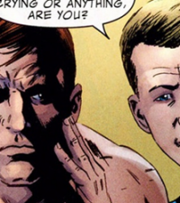 "Fantastic Four Issue 584: ""Three, Part 2: Congratulations, Mister Grimm. You're handsome again!"""